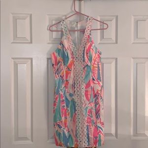Lilly Pulitzer Lynne Shift Dress Out to Sea